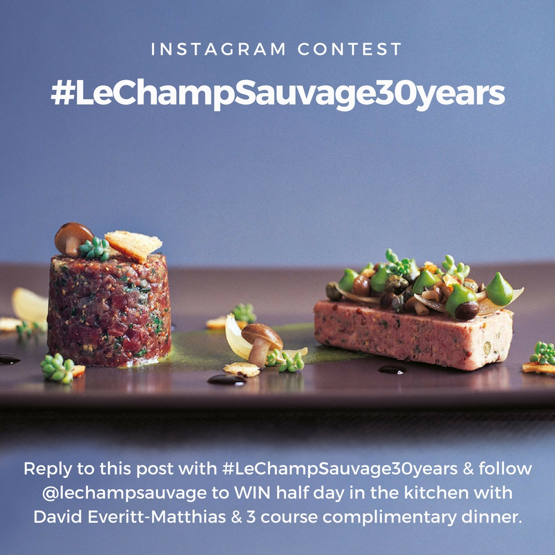 #LeChampSauvage30years