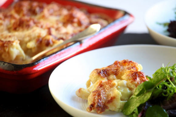macaroni-cauliflower-cheese